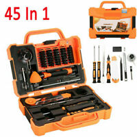Pro 45 in1 Screwdriver Pry Repair Opening Tools Box Set Kit For Samsung iPhone