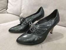 Super Comfy Women's Sachi Patent Leather Shoes Heels Pumps Ladies Size 36.5