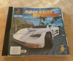 Ridge racer revolution PS1 Sony PlayStation PAL