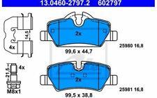 4x ATE Bremsbeläge hinten 13.0460-2797.2 - Mister Auto Autoteile