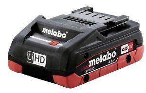 Metabo Akkupack 18V 4,0 Ah LiHD CAS System Akku Ersatzakku Hohe Akku-Ressource