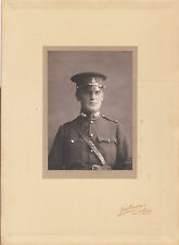 1908 Photograph of 2nd Lt. Waters Newcasle upon Tyne England Volunteer Artillery