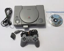 PS1 Playstation 1 Fat Console SCPH-9001 Original - Bundle -Tested & Working A05