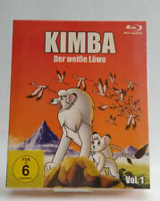 Blu ray Kimba la blanca león vol 1, 26 episodios, 4 br, Collectors Edition FSK 6
