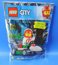 LEGO CITY EDIZIONE LIMITATA 951807 / ottano corridori con auto da corsa /