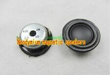 "2pcs 1.5"" inch 28MM 4Ohm 2W Full-range speaker Loudspeaker For Bluetooth audio"