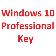 Windows 10 Pro Professional 32 & 64 Bit Product Key Produktschlüssel