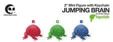 "Toy2R x Emilio Garcia/lapolab 2""Mini Jumping Brain Red Green Blue RGB 3pcs Set"