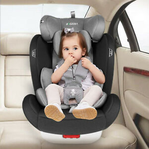 ISOFIX Car Seat Child Group 0+/1/2/3 Baby Car Seat Rotation 360°Booster Seat UK