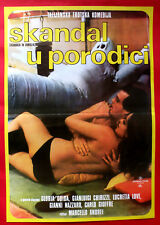 FAMILY SCANDAL 1976 ITALIAN GLORIA GUIDA GIANLUIGI CHIRIZZI EXYU MOVIE POSTER