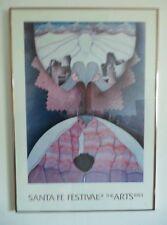 Amado Maurillio Pena Santa Fe Of The Arts 1983 Art Print