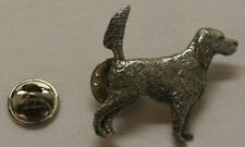 English Setter Tail Up Dog Fine PEWTER PIN Jewelry Art USA Made