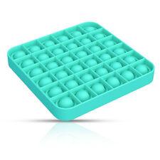 Pop it Fidget Toy Push Bubble Sensory Stress relief Kids Family games Square