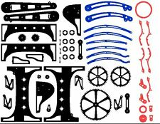 BIG steam punk lamp dxf format clip art for CNC Plasma or LASER cutting on CD
