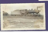 Northern Pacific NP 2-6-2 Steam Locomotive #2407 Vintage B&W Railroad Photo
