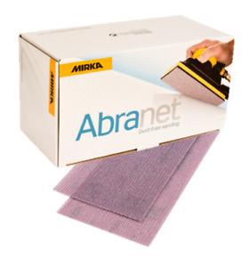 Mirka Abranet Strips 70 x 125mm Box 25 * ALL GRITS *