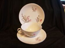 Vintage Royal Duchess Fine China Butter dish, cup & saucer from Bavaria Germany