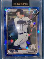 SPENCER TORKELSON 1st 2020 Bowman Chrome Draft SAPPHIRE REFRACTOR Rookie Card RC