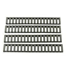 HOT 4x Green Picatinny Weaver Quad Rail Low Profile Hand Guard Ladder Covers