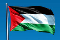 3ft x 5ft Palestine Flag فلسطين Filasṭīn