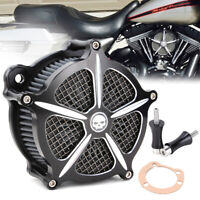 Air Cleaner Intake Filter For Harley Dyna Fatboy Softail 93-15 Touring 97-07 USA
