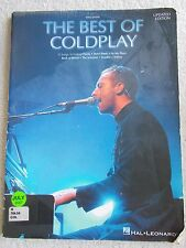 Best of Coldplay 11 Songs Arranged Easy Piano w/Lyrics Unmarked