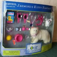 Vintage Our Generation Jasmines Kitty Fantasy New 1 Day Ship