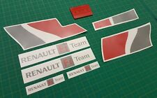 Renault Sport Megane R26 230 RS F1 TEAM Decal Set Stickers deux Version couleurs