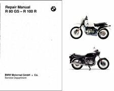 1980-1996 BMW R 80 GS / R 100 R Service Manual on a CD  ---  R80GS R100GS