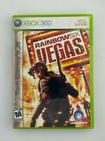 Tom Clancy's Rainbow Six: Vegas - Xbox 360 Game - Complete & Tested