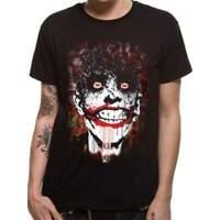 Official Licensed DC Originals Arkham Joker Black T-Shirt
