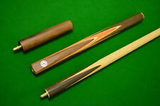 NEW QUALITY DELUXE 3/4 JOINTED SNOOKER CUE ASH SHAFT