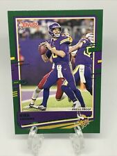 2020 Donruss Green Press Proof Kirk Cousins #158 Photo Variation SP Vikings