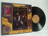 DURAN DURAN seven and the ragged tiger LP EX+/VG EMC 1654541, with lyric inner