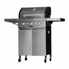 KeGrill KE521/4 Barbecue a Gas o Pietra Lavica - Inox