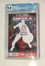 Captain America #25 Cgc 9.8, 1st app Captain America (Sam Wilson), Marvel 12/14