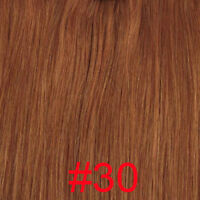 50/100/150/200 HAIR EXTENSIONS INSTALLATION A WARM 100% NATURAL REMY 49/60CM