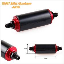 Autos T6061 Billet Aluminum AN10 100 Micron High Flow Fuel Inline Petrol Filter