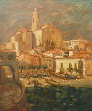 Marcel Azema Billa (1904-1999) Cadaqués Costa Brava 1949(v)