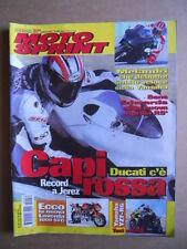 MOTOSPRINT n°50  2002     [Q30] TEST YAMAHA YFZ-R6 LAVERDA 1000 SFC