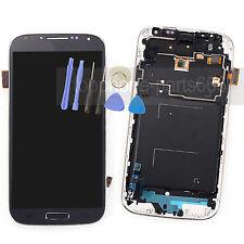 LCD Display Touch Screen Digitizer+Frame For Samsung Galaxy S4 i9500 Dark Blue