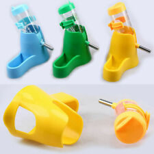 US 80ML Hamster Water Bottle Dispenser Food Feeder Dish Bowl Pet Drinking Tool