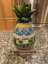 Jim Shore Heartwood Creek Welcome All Pineapple 4007666 By Enesco