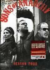Sons of Anarchy: Season 4 [4 Discs] (2012, REGION 1 DVD New) WS