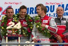 Fassler & Lotterer & Treluyer Audi R18 TDi Winners Le Mans 2011 Photograph 19