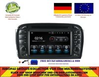 DVD GPS NAVI ANDROID 9.0 BT DAB+ WIFI MERCEDES BENZ SL KLASSE R230 01-04 8817