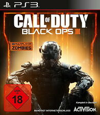 Call Of Duty: Black Ops III (Sony PlayStation 3, 2015, DVD-Box)