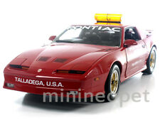 GREENLIGHT 12859 1987 PONTIAC FIREBIRD TRANS AM GTA TALLADEGA 500 PACE CAR 1/18