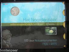 SPECIAAL CARNET + PENNING NVPH NR. 2335 BLOK NATUURMONUMENTEN 2005 NAARDERMEER