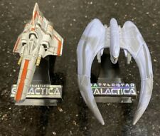 Hasbro Battlestar Galactica Titanium Series Diecast - Viper & Cylon Raider